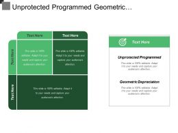 Unprotected Programmed Geometric Depreciation Productivity Reducing Specialty Individuals