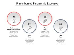 Unreimbursed Partnership Expenses Ppt Powerpoint Presentation Icon Layout Cpb