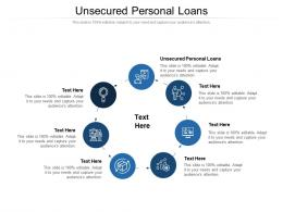Unsecured Personal Loans Ppt Powerpoint Presentation Inspiration Background Designs Cpb