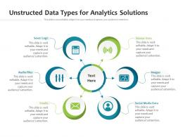 Unstructed Data Types For Analytics Solutions