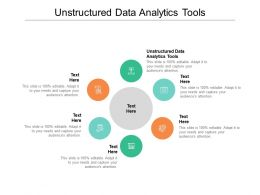 Unstructured Data Analytics Tools Ppt Powerpoint Presentation Pictures Slides Cpb