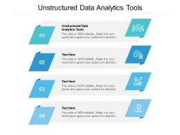 Unstructured Data Analytics Tools Ppt Powerpoint Presentation Summary Tips Cpb
