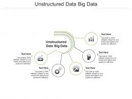 Unstructured Data Big Data Ppt Powerpoint Presentation Summary Graphic Tips Cpb