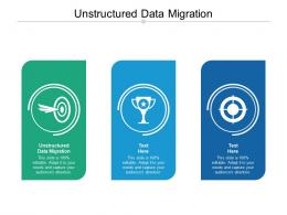 Unstructured Data Migration Ppt Powerpoint Presentation Portfolio Example File Cpb