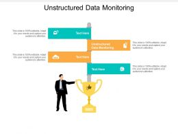 Unstructured Data Monitoring Ppt Powerpoint Presentation Outline Good Cpb