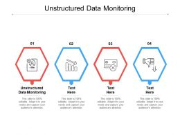 Unstructured Data Monitoring Ppt Powerpoint Presentation Professional Microsoft Cpb