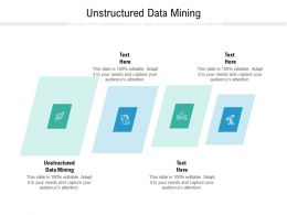 Unstructured Data Planning Ppt Powerpoint Presentation Infographics Icon Cpb