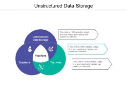 Unstructured Data Storage Ppt Powerpoint Presentation Model Cpb