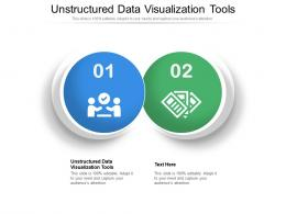 Unstructured Data Visualization Tools Ppt Powerpoint Presentation Model Graphic Tips Cpb