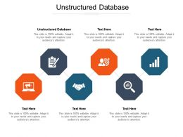 Unstructured Database Ppt Powerpoint Presentation Portfolio Clipart Images Cpb