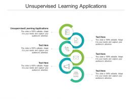 Unsupervised Learning Applications Ppt Powerpoint Presentation Portfolio Clipart Images Cpb