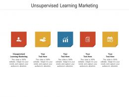 Unsupervised Learning Marketing Ppt Powerpoint Presentation Infographic Template Gridlines Cpb