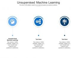 Unsupervised Machine Learning Ppt Powerpoint Presentation File Background Images Cpb