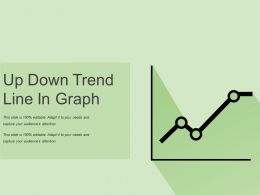 Up Down Trend Line In Graph