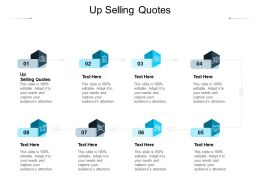 Up Selling Quotes Ppt Powerpoint Presentation Layouts Visuals Cpb