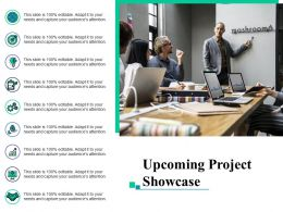 Upcoming Project Showcase Marketing Ppt Layouts Example Introduction