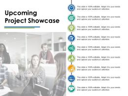 Upcoming Project Showcase Ppt Infographics Example Introduction