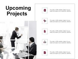 Upcoming Projects Communication Ppt Powerpoint Presentation Gallery Introduction