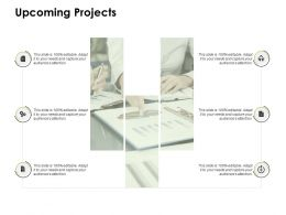 Upcoming Projects Opportunity Gears Ppt Powerpoint Presentation Ideas Summary