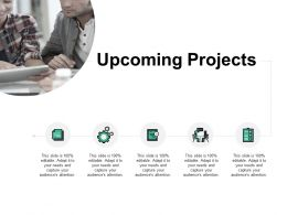 Upcoming Projects Our Team Communication B176 Ppt Powerpoint Presentation File Format