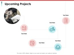 Upcoming Projects Technology Ppt Powerpoint Presentation File Introduction