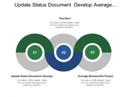 Update Status Document Develop Average Revenue Per Project Team Acknowledge
