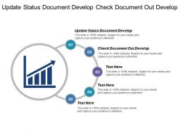 Update Status Document Develop Check Document Out Develop