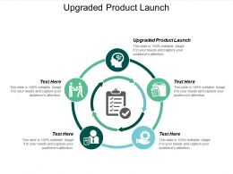 Upgraded Product Launch Ppt Powerpoint Presentation Infographics File Formats Cpb