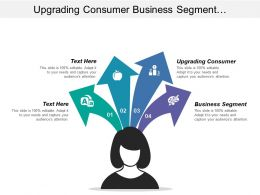 Upgrading Consumer Business Segment Respondents Purchase Increasingly Element