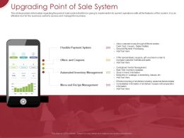 Upgrading Point Of Sale System Ppt Powerpoint Presentation Gallery Show