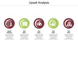 Upsell Analysis Ppt Powerpoint Presentation Inspiration Design Templates Cpb