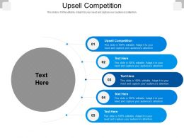 Upsell Competition Ppt Powerpoint Presentation Infographics Ideas Cpb
