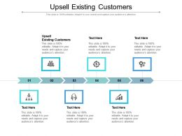 Upsell Existing Customers Ppt Powerpoint Presentation Slides Graphics Download Cpb