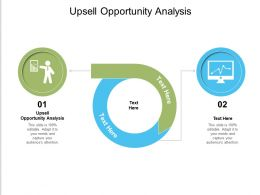 Upsell Opportunity Analysis Ppt Powerpoint Presentation Pictures Graphics Design Cpb