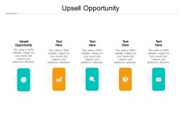 Upsell Opportunity Ppt Powerpoint Presentation Slides Example File Cpb