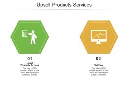 Upsell Products Services Ppt Powerpoint Presentation Ideas Example Introduction Cpb