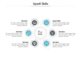 Upsell Skills Ppt Powerpoint Presentation Portfolio Background Designs Cpb