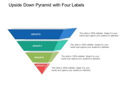 Upside Down Pyramid With Four Labels