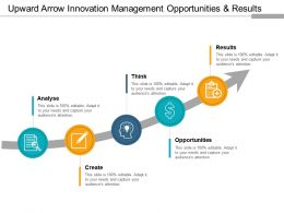 upward_arrow_innovation_management_opportunities_and_results_Slide01