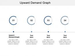 Upward Demand Graph Ppt Powerpoint Presentation Model Gallery Cpb