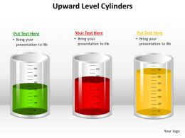 Upward Level Cylinders