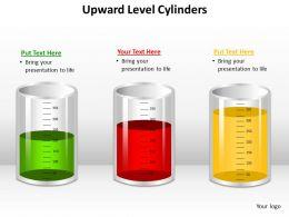 Upward Level Cylinders