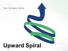 Upward Spiral Financial Growth Infographic Dollar Business Process Progress