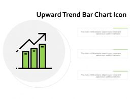 Upward Trend Bar Chart Icon