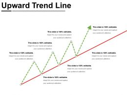 Upward Trend Line Powerpoint Ideas