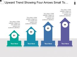 upward_trend_showing_four_arrows_small_to_large_with_text_boxes_Slide01