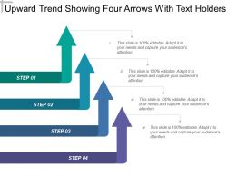 upward_trend_showing_four_arrows_with_text_holders_Slide01