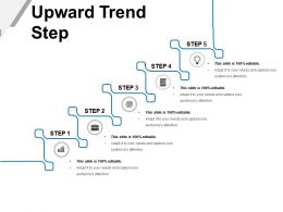 Upward Trend Step Powerpoint Presentation