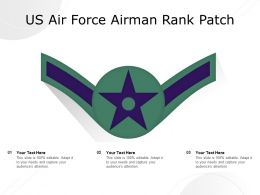 US Air Force Airman Rank Patch