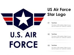 US Air Force Star Logo
